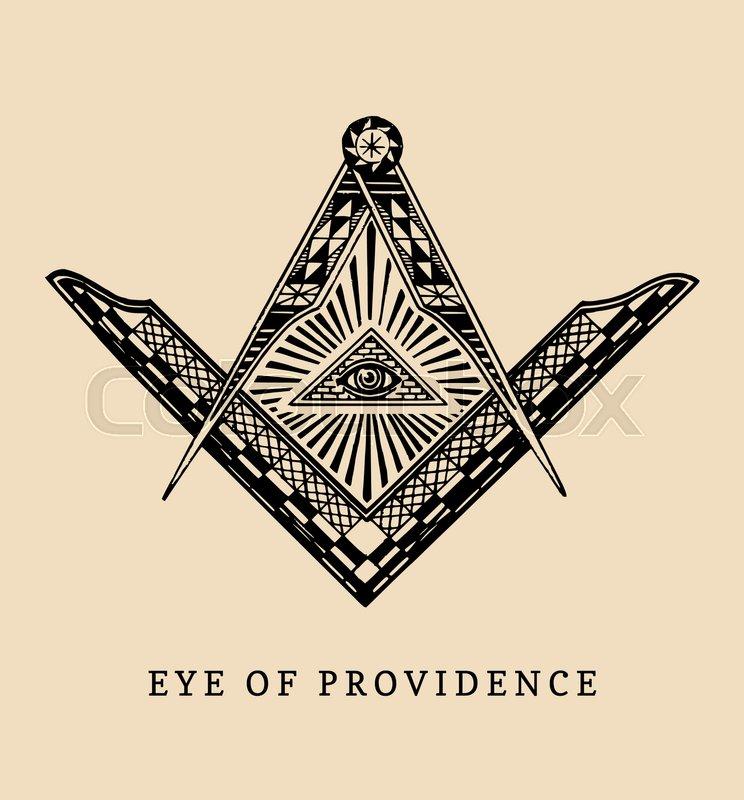 All Seeing Eye Masonic Ring Eye Of Providence Illuminati Triangle