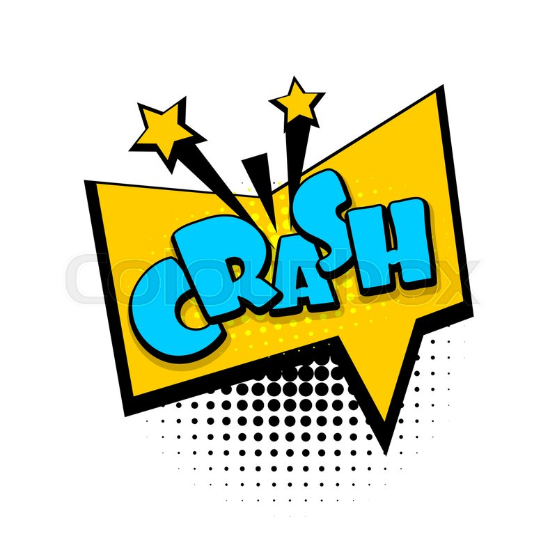 Lettering Crash Boom Explosion Comics Book Balloon Bubble Icon Speech Phrase Cartoon Font Label Tag Expression Comic Text Sound Effects