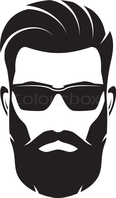 beard and glasses silhouette wwwpixsharkcom images