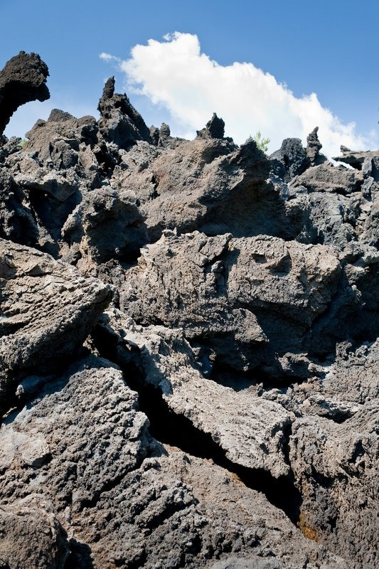 how to use volcanic rock