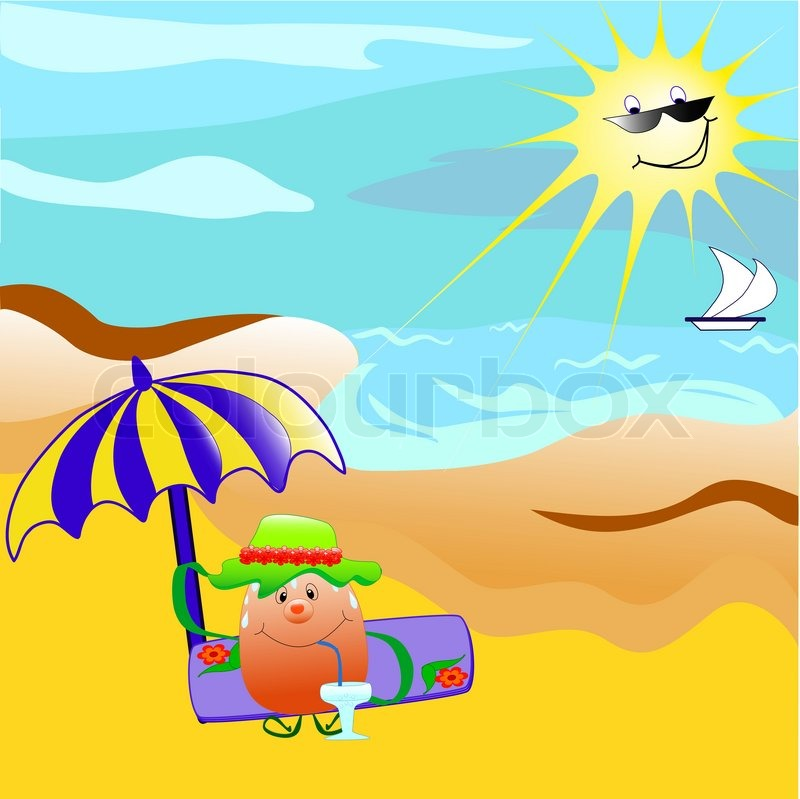 sea bed beach vector - photo #20