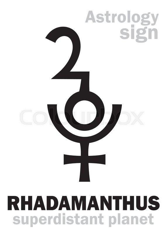 Astrology Alphabet Rhadamanthus Superdistant Planet Plutino