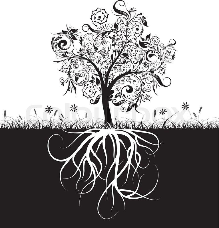 Ausmalbilder Baum Mit Wurzeln ~ Die Beste Idee Zum Ausmalen von Seiten