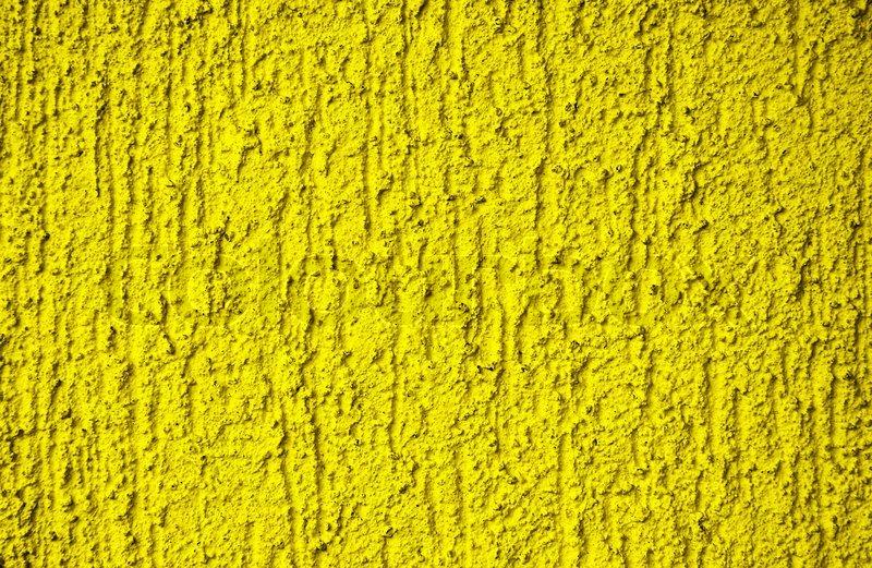 Gelbe Bilder der gelbe hintergrund gelb strukturierten putz stockfoto colourbox