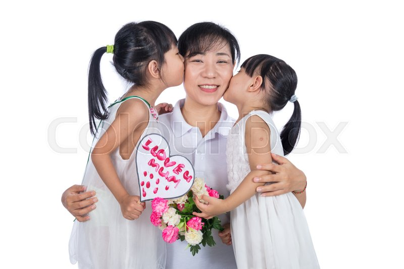 person asian Hug day an
