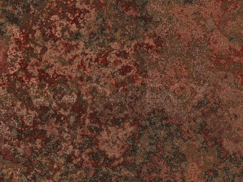 Abstract Generated Weathered Rust Metal Stock Photo