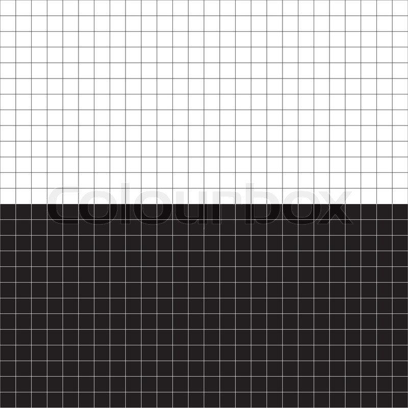 16cc77f1cee31 A black and white grid layout - plenty ... | Stock vector | Colourbox