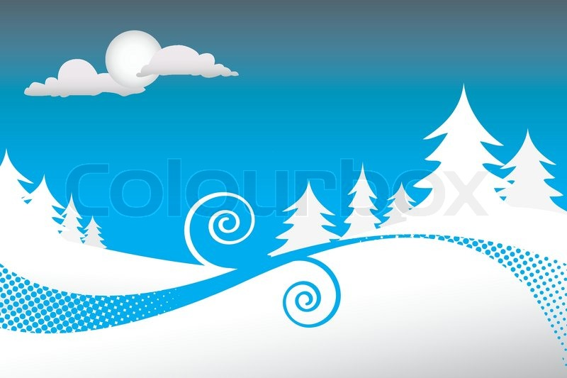 Displaying (19) Gallery Images For Winter Pine Tree Clip Art...