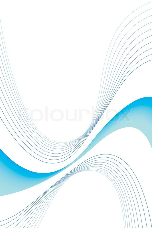 an abstract blue swirls design with plenty of copyspace