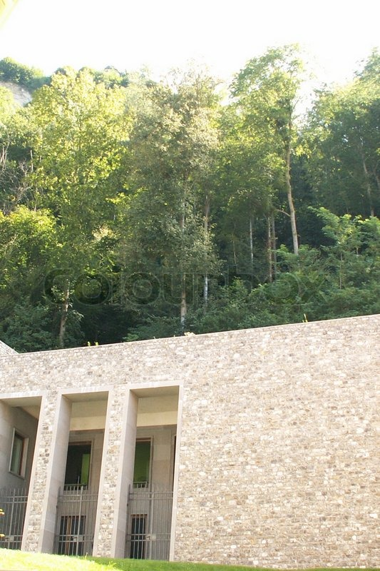 The building in mountain, stock photo