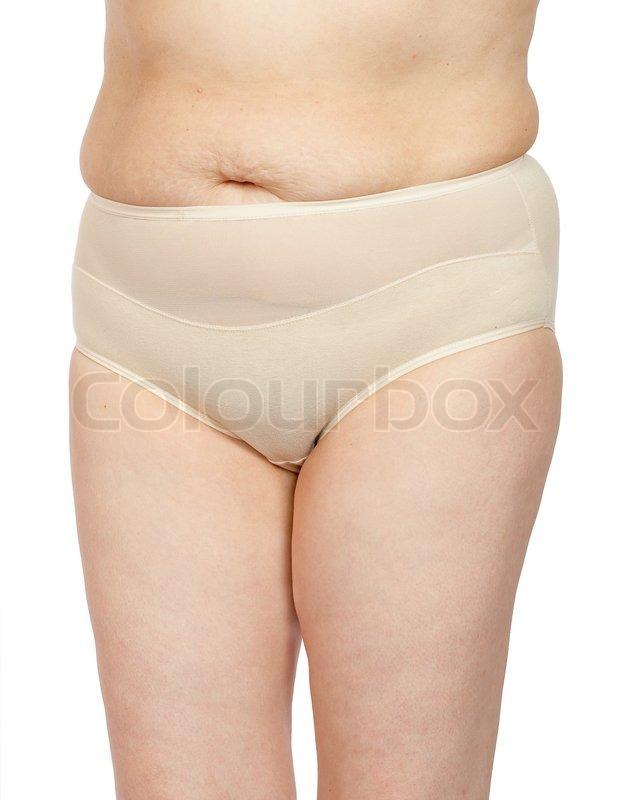 Frauen mit einer Cellulite auf dem Bauch | Stockfoto | Colourbox
