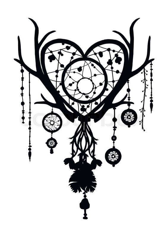 amulet dream catcher hand