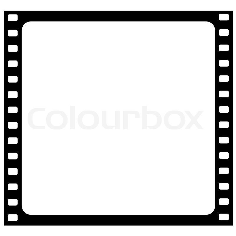 Illustration der Film-Frame - Vektor   Vektorgrafik   Colourbox