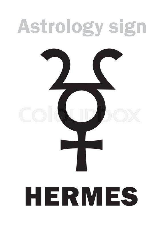 Astrology Alphabet Hermes Hypothetic Planet Hieroglyphics