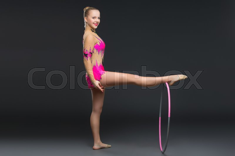 Idea)))) Girl gymnastics teen