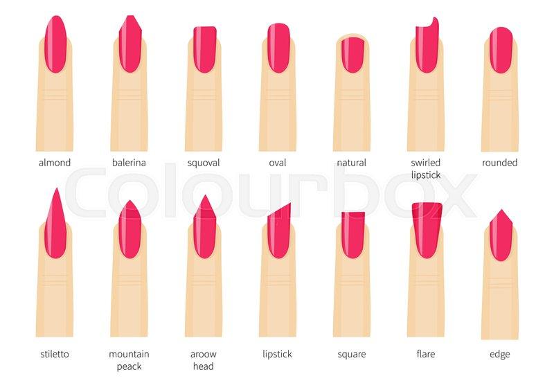 Different Kinds Of Design Nails