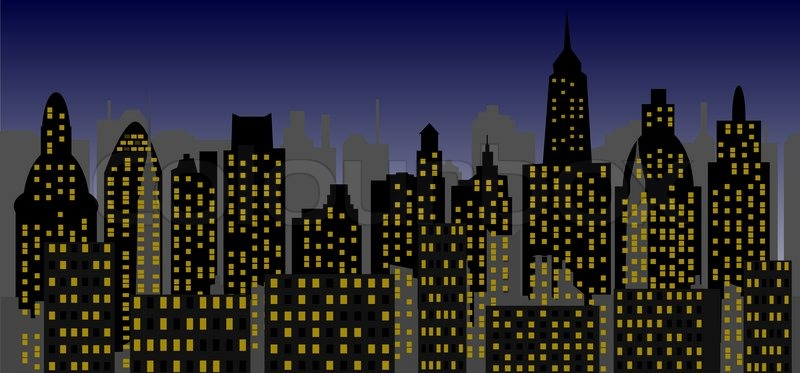 Superheroes New York Building