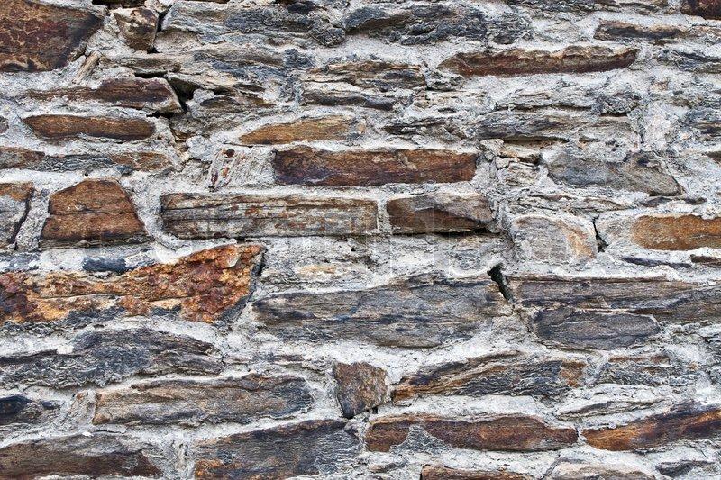 Naturstein Hintergrund Der Wand, Stock Foto