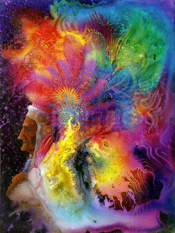 Bild Gemalt Von Mir Mit Dem Namen Stock Bild Colourbox