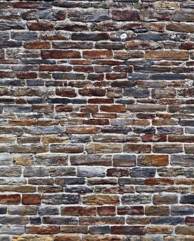 Naturstein hintergrund der wand stock foto colourbox - Naturstein textur ...