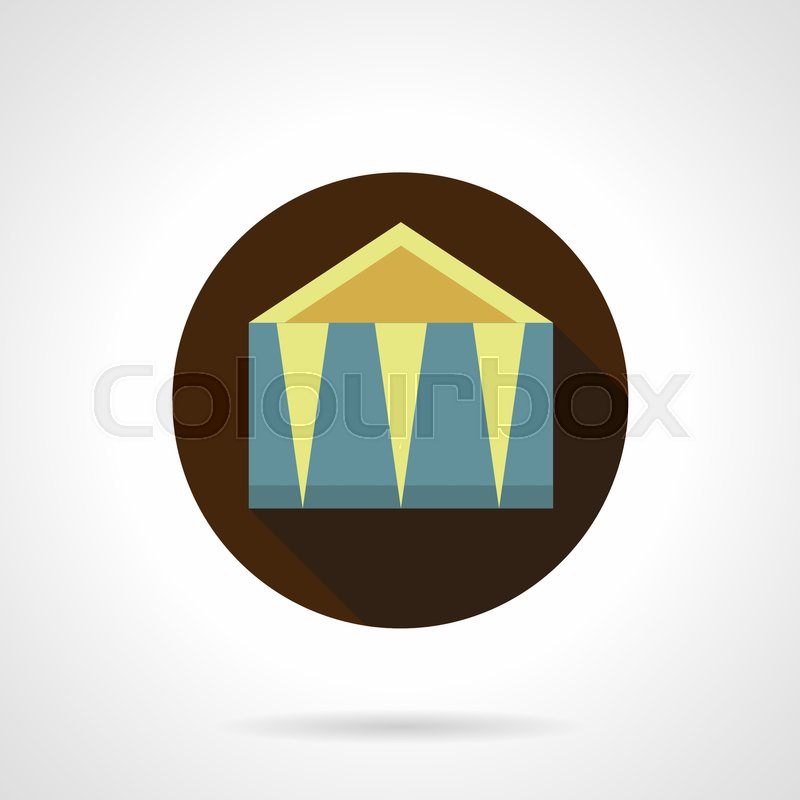 Blue And Yellow Outdoor Event Tent Objects For Trade Business