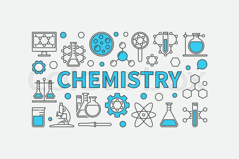Chemistry Creative Modern Background Vector Science And