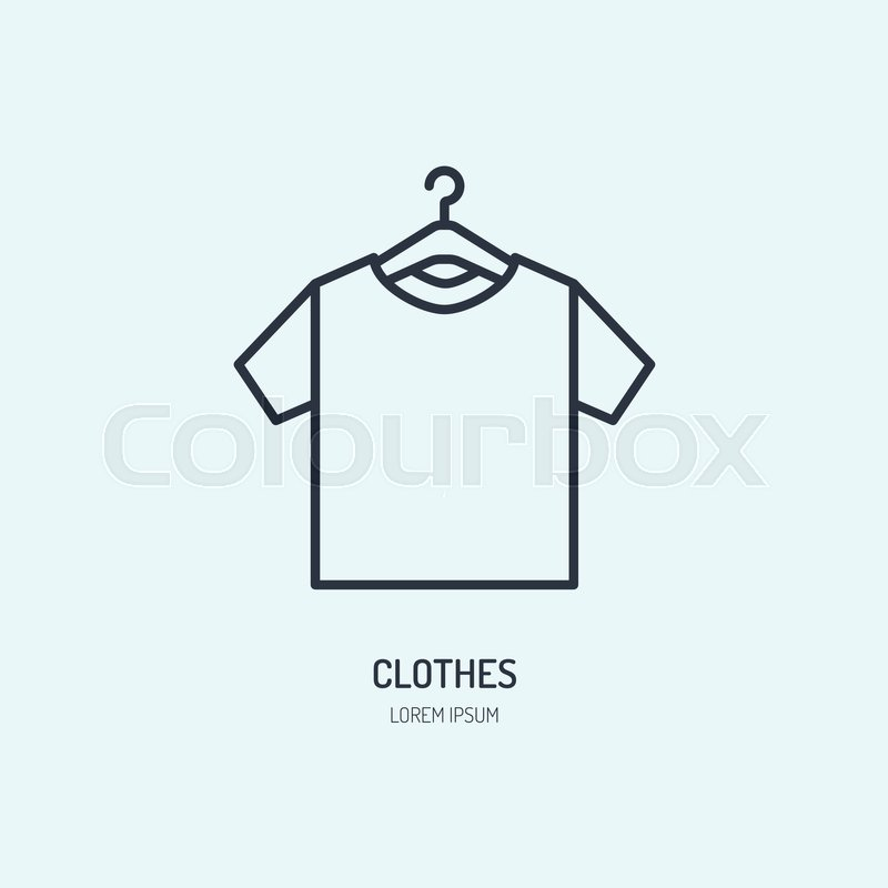 t shirt on hanger icon clothing shop stock vector colourbox t shirt on hanger icon clothing shop