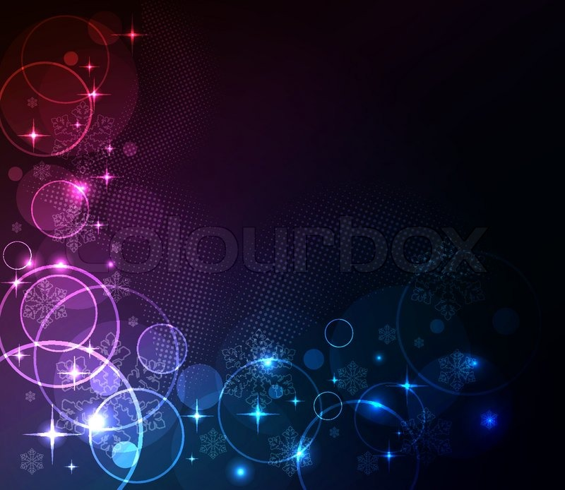 new year abstract glowing background stock vector colourbox