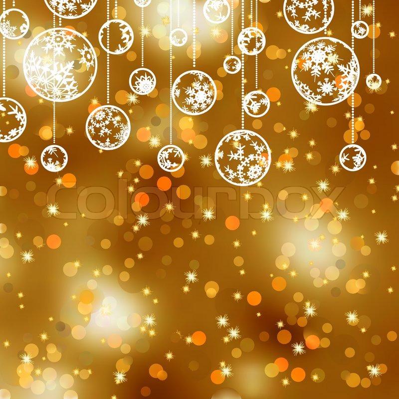 elegante gold weihnachten hintergrund vektorgrafik. Black Bedroom Furniture Sets. Home Design Ideas
