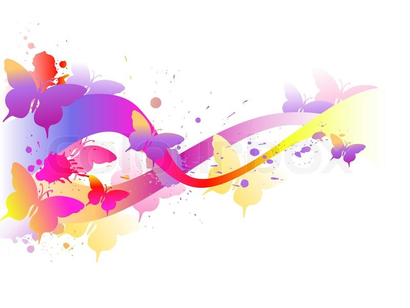 Shining Abstract Vector Backgrounds With Light Effects