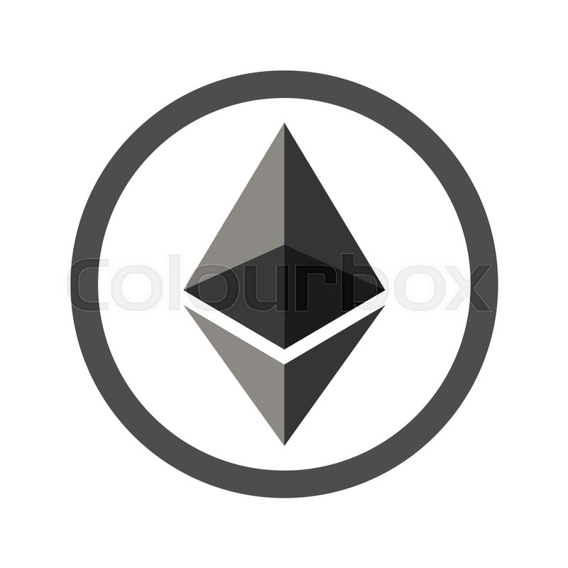 Ethereum Flat Icon For Internet Money Crypto Currency Symbol And Coin Image Blockchain Based Secure Cryptocurrency Using In Web Projects Or Mobile