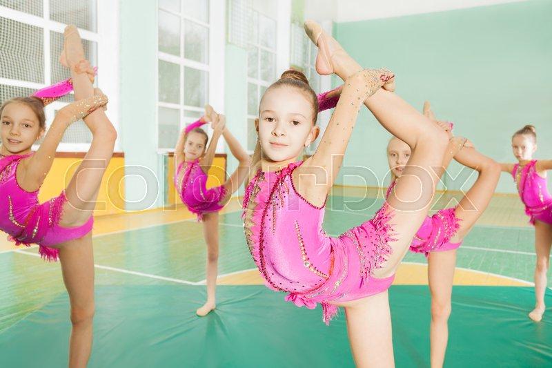 photos of single girls gymnastics № 151017