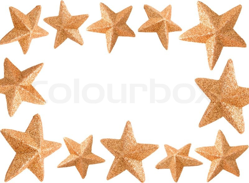 Christmas Star frame | Stock Photo | Colourbox