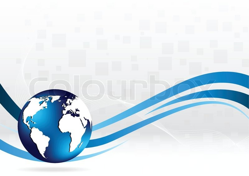 Line Art Earth : Vector background with globe clip art stock colourbox