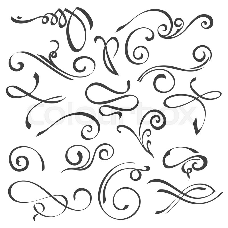 Ornament Swirls Divider 6