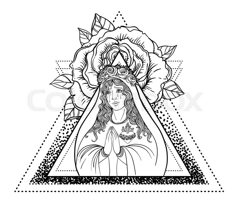Lady Of Sorrow Devotion To The Immaculate Heart Of Blessed Virgin