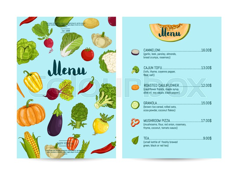 Farm To Your Kitchen Menu