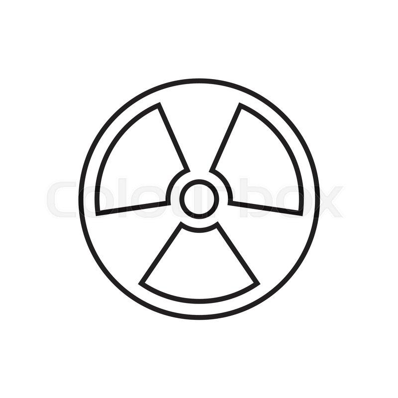 The Radiation Icon Radiation Symbol Universal Radiation Icon To