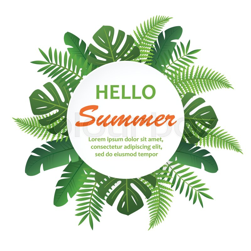 Spring Summer Fashion Banner
