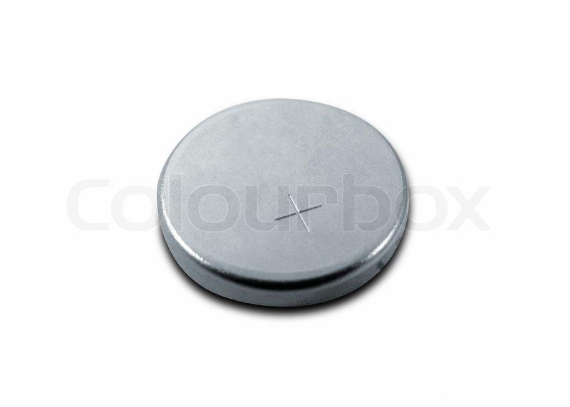 kleine batterie auf wei mit clipping pfad stockfoto colourbox. Black Bedroom Furniture Sets. Home Design Ideas