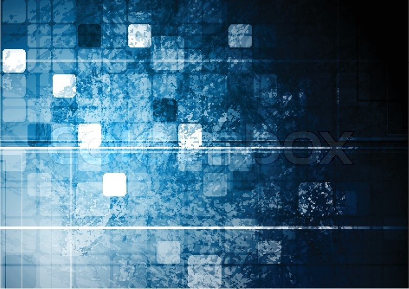 Dark Tech Background Vector Design Eps 10