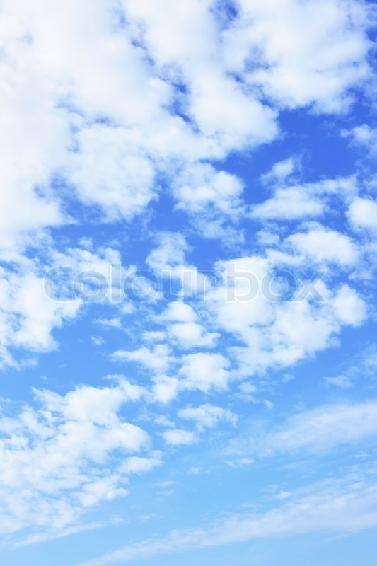 Stock image of 'Blue sky and clouds, may be used as background'