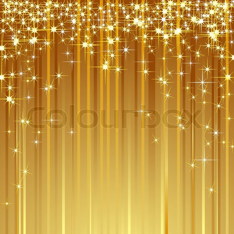 Brilliant Background With Shooting Stars Vector