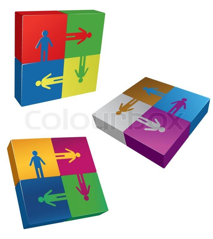 Business Team Logo Business Logo Friendship Team