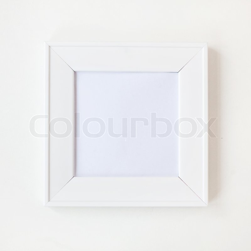 Atemberaubend Weiße Quadrat Bilderrahmen Fotos - Benutzerdefinierte ...