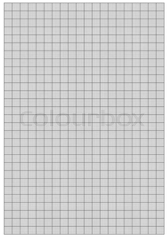 image of graph paper 1mm square a4