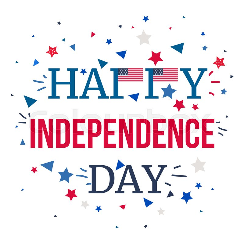 4th july usa independence day celebration banner national american 4th july usa independence day celebration banner national american greeting vector stock vector colourbox m4hsunfo