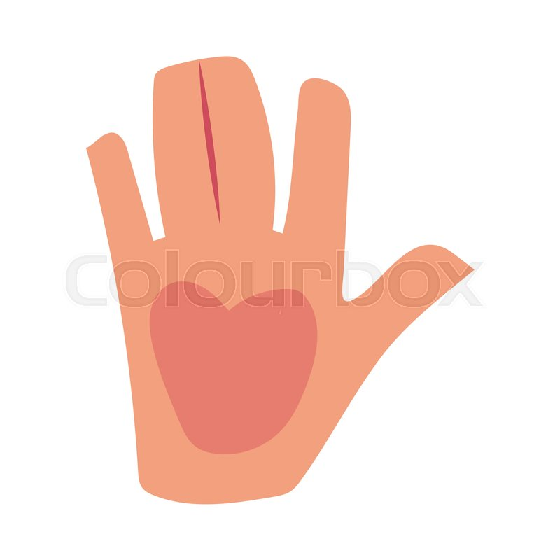Caucasian human hand showing giving high five greeting saluting caucasian human hand showing giving high five greeting saluting symbol cartoon vector illustration isolated on white background m4hsunfo