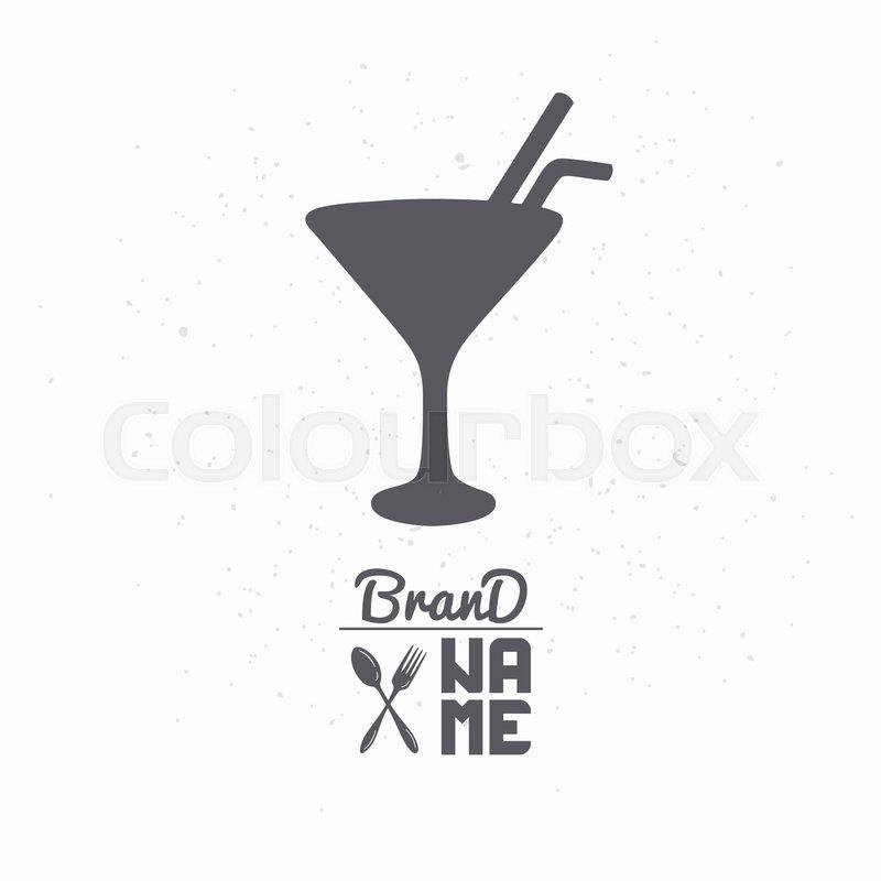 Mixgetränk, template, lebensmittel   Vektorgrafik   Colourbox