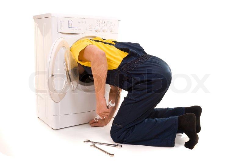 repairman for washing machine